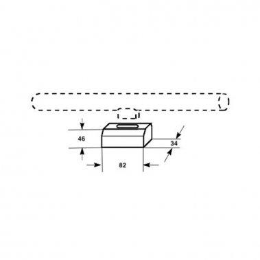 OSRAM S14D patice světlešedá 230V S14D - DESIGN - RENDL-1