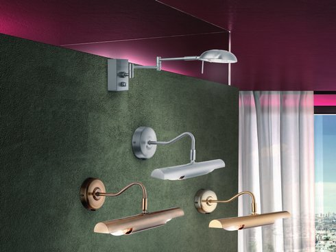 Nástěnné svítidlo nad obraz/zrcadlo GL 4403-1