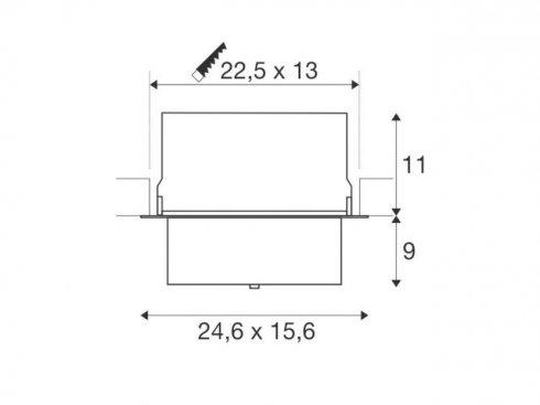 Stropní svítidlo  LED LA 1000793-3