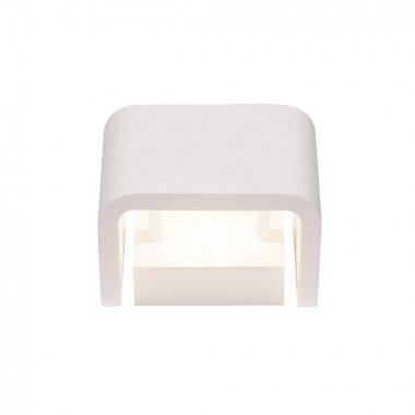MANA stínidlo š/v/h 13,5/10/9,9 cm sádra bílé - BIG WHITE-1