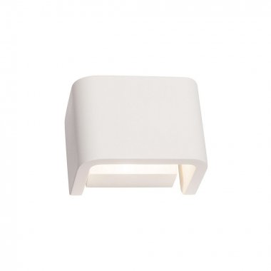 MANA stínidlo š/v/h 13,5/10/9,9 cm sádra bílé - BIG WHITE SLV-2