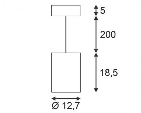 Lustr/závěsné svítidlo  LED LA 133100-4