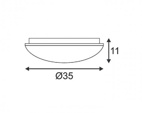 Stropní svítidlo  LED LA 133733-2