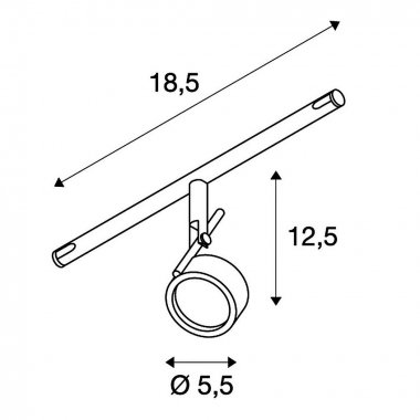 Lankové systémy SLV LA 139131-1