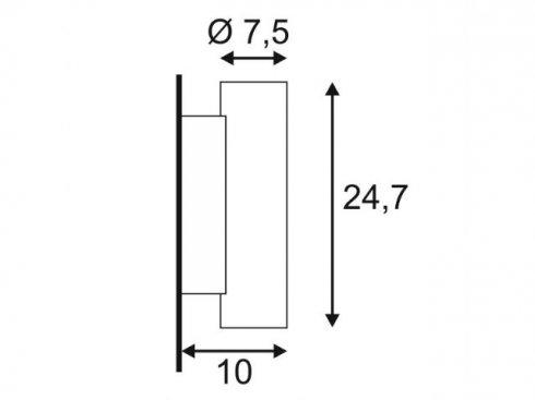 Nástěnné svítidlo LA 148060-3