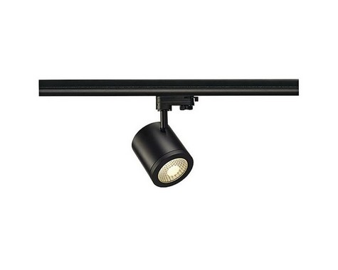 ENOLA C9 pro tříokr. lištu černá 230V COB LED 9W 55° 3000K  LED LA 152430-3