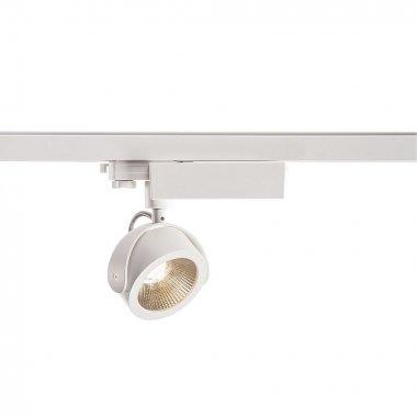 KALU TRACK zářivka na 3fázovou 230V kolejnici LED 3000K bílá/černá 24° vč.adaptéru - BIG WHITE-1