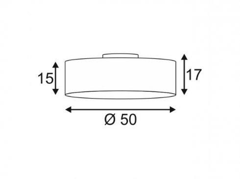 Stropní svítidlo SLV LA 156051-1