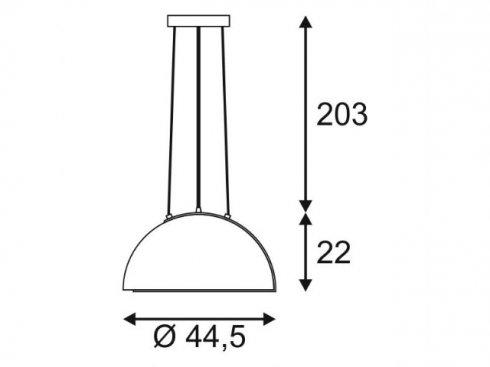 Lustr/závěsné svítidlo LA 157701-1