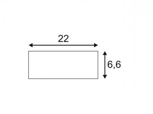 Stropní rozeta, bílá matná  LA 158791-1