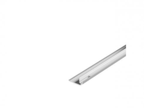 GLENOS stupňový profil schodů DOWN 200, eloxovaný hliník, 2 m LA 213592-1