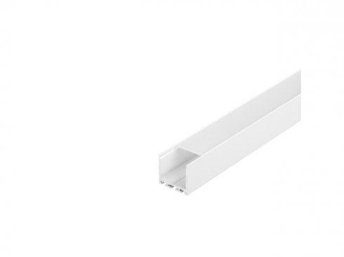 GLENOS Profi profil 3030-300, matný bílý, 3 m SLV LA 213631-1