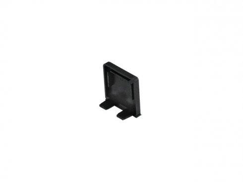 GLENOS koncová krytka pro Profi profil 2609 SQUARE, matná černá, 2 ks SLV LA 213790-1