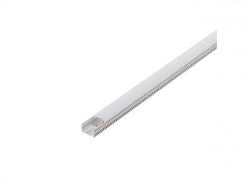 GLENOS, lineární profil 2713, bílý, 2 m, eloxovaný Al LA 214334-1