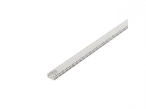 GLENOS, lineární profil 2713, bílý, 2 m, eloxovaný Al LA 214334-2