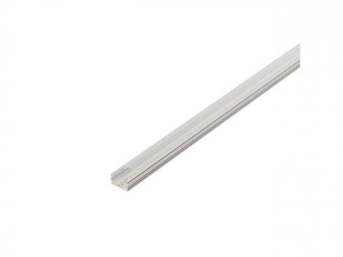 GLENOS, lineární profil 2713, bílý, 2 m, eloxovaný Al LA 214334-3