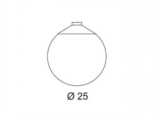 Venkovní svítidlo závěsné LA 228050-1