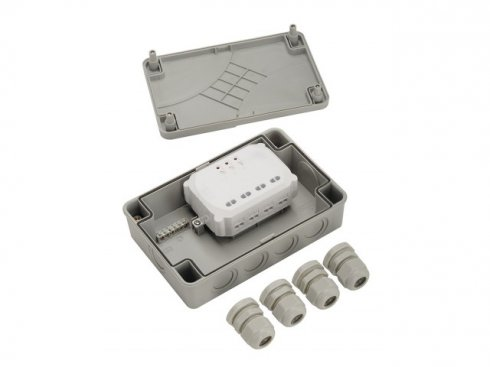 IP56 junction box for 3-channel receiver module LA 470804-3
