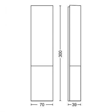 Koupelnové osvětlení LED 34342/11/P0-4