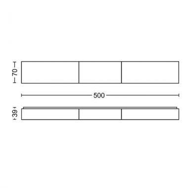 Koupelnové osvětlení LED 34343/11/P0-4