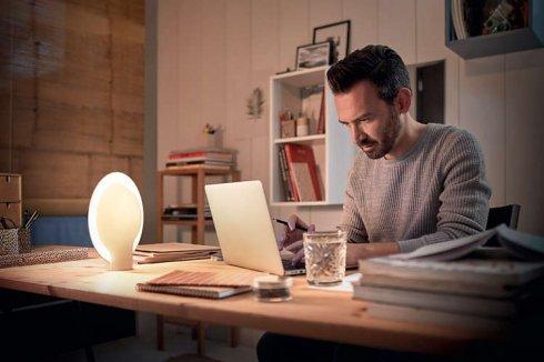 Pokojová stolní lampa LED 40975/31/P7-2
