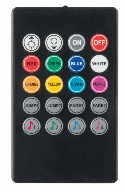 YourLED RGB zvukový senzor max. 60W černá - PAULMANN-4