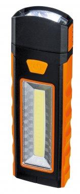 Svítidlo - baterka Work Light oranžová/černá s magnetem a háčkem - PAULMANN-2