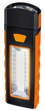 Svítidlo - baterka Work Light oranžová/černá s magnetem a háčkem - PAULMANN-3