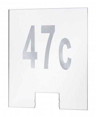 Domovní čísla k nástěnnému svítidlu Cone Transparent - PAULMANN-1