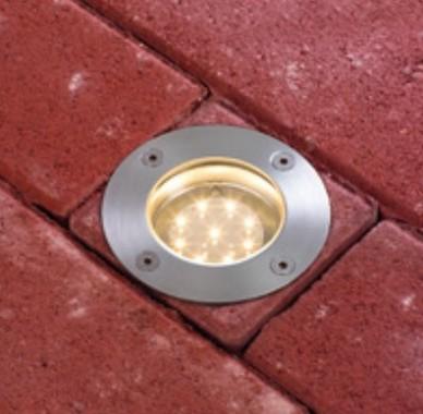 Pojezdové/zemní svítidlo LED  P 93789-1