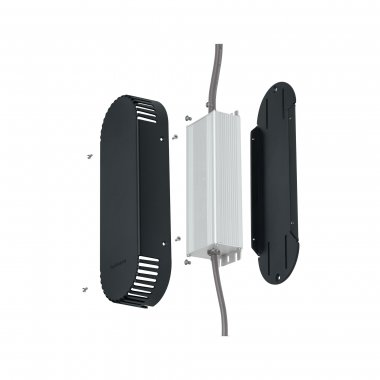 Plug&Shine kryt transformátoru šedý plast - PAULMANN-1