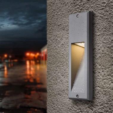 Venkovní svítidlo vestavné LED  R10557-1