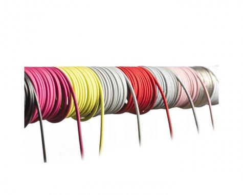 FIT textilní kabel 3X0,75 1bm černá/bílá -1