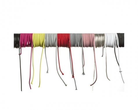 FIT textilní kabel 3X0,75 1bm černá/bílá -3