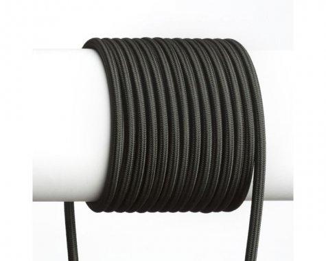 FIT textilní kabel 3X0,75 1bm černá-2