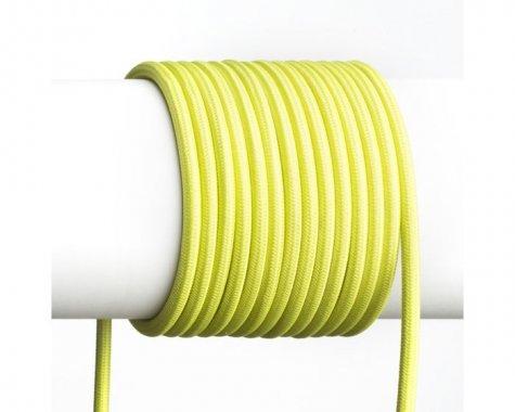 FIT textilní kabel 3X0,75 1bm limetková -3
