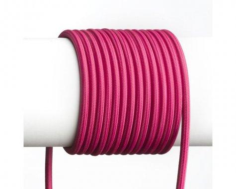 FIT textilní kabel 3X0,75 1bm červená/bílá-3