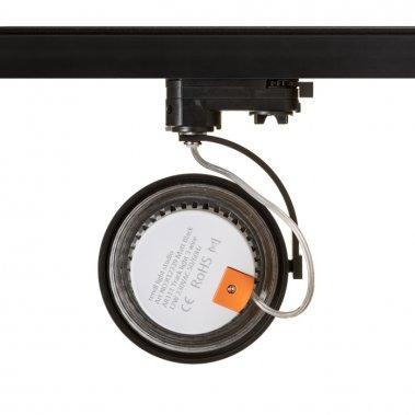 KELLY LED pro tříokr. lištu černá 230V LED 12W 24° 3000K - RED - DESIGN RENDL-2