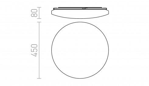 Stropní svítidlo  LED R12433-3