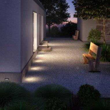 Venkovní svítidlo vestavné LED  R12537-1