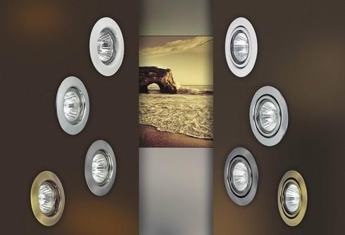 Vestavné bodové svítidlo 12V RA 1089-1